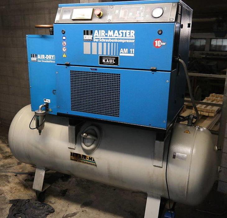 šroubový kompresor Schneider am 11